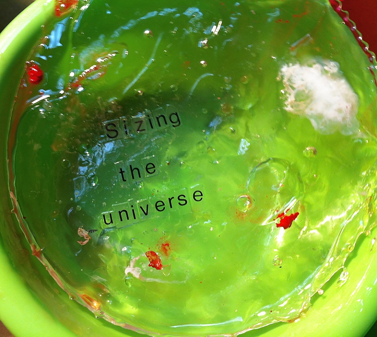planets, circles, resin, color, text