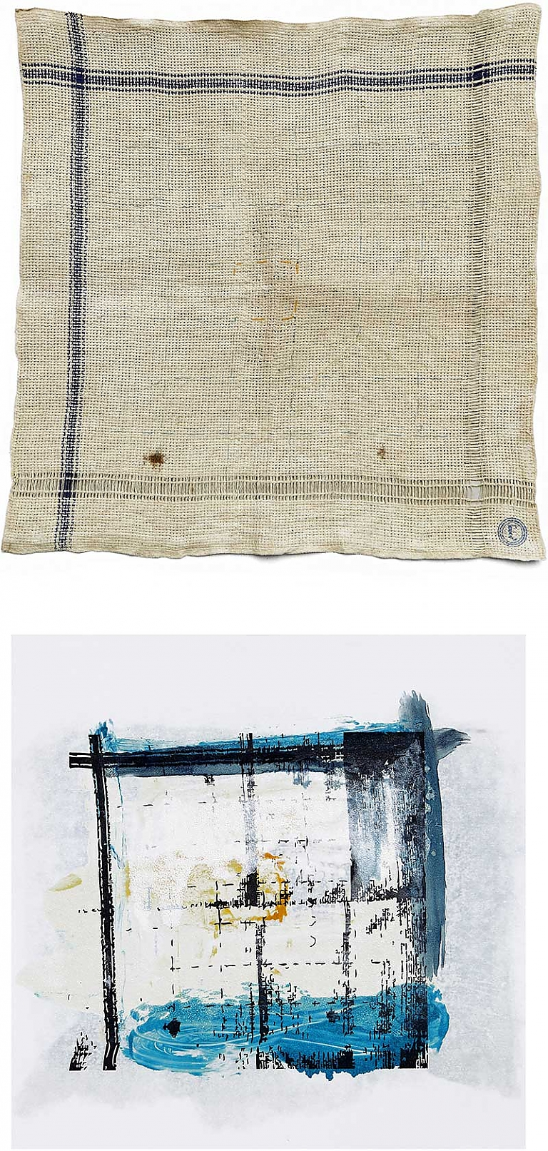 monoprints art abstraction object